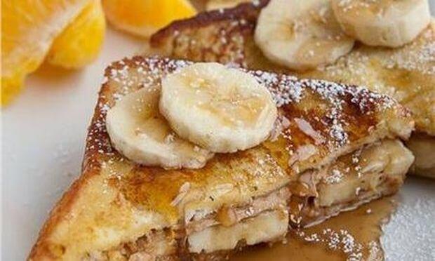 Τόστ με μπανάνα και μέλι